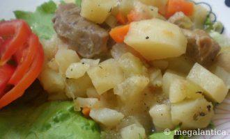 Как приготовить рагу с мясом - рецепт с фото