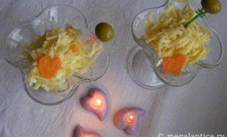 как приготовить салат-коктейль - рецепт с фото