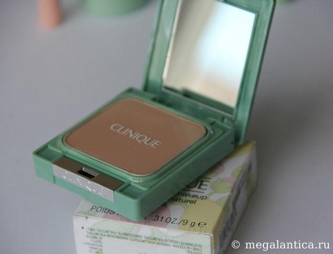 Компактная пудра Clinique - Almost Powder Makeup Teint Poudre Naturel SPF 15
