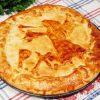 как приготовить мясной пирог с фетаксой - рецепт с фото
