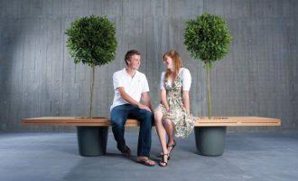 скамейка для влюбленных