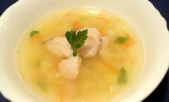 Как приготовить рисовый суп с хеком — рецепт с фото