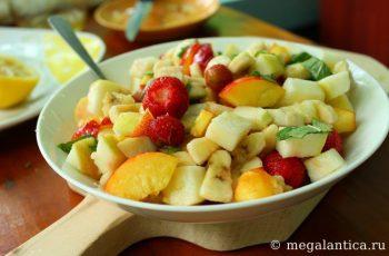 Как приготовить фруктовый салат - рецепт с фото.