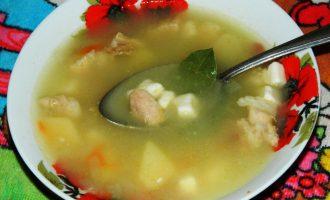 Как приготовить суп с говядиной и плавленым сыром — рецепт с фото.