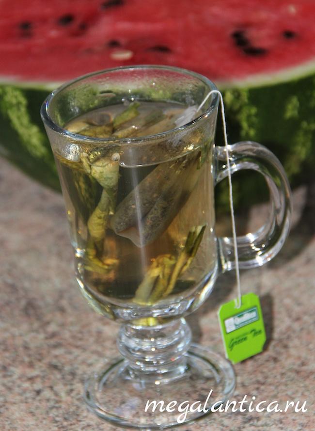Лечебный чай из арбузных корок
