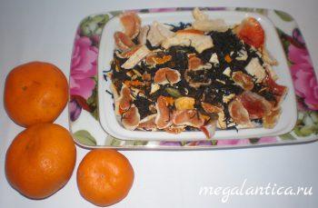 чай с грейпфрутом рецепт