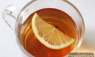Черный чай с фруктовыми добавками