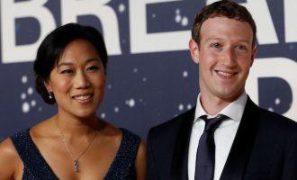 Марк Цукерберг и Присцилла