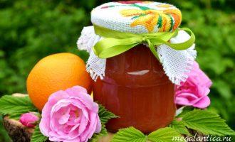 Джем из чайной розы с апельсинами