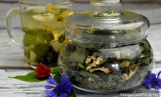 Имбирно-лимонная заварка для чая с мелиссой
