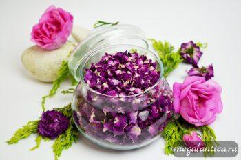 Сушеная чайная роза