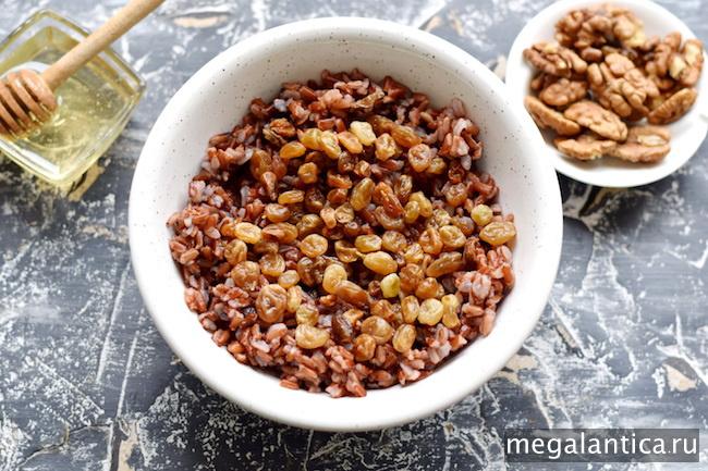 как приготовить кутью из красного риса