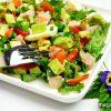 Салат с бужениной, авокадо