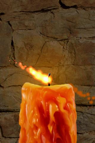 андроид свеча оплавленная