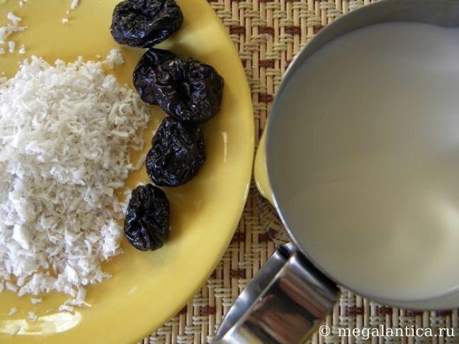 Как приготовить кокосовый десерт - рецепт с фото