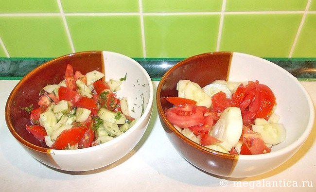 как приготовить салат - рецепт с фото