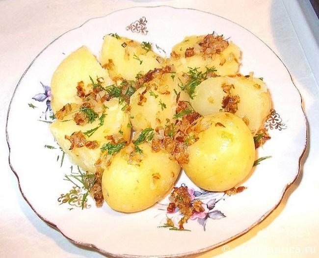 как приготовить молодой картофель - рецепт с фото