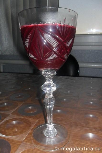 как приготовить виноградный нектар - рецепт с фото