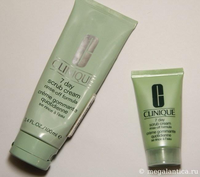 Ежедневный скраб - Clinique 7 Day Scrub Cream Rinse-off Formula