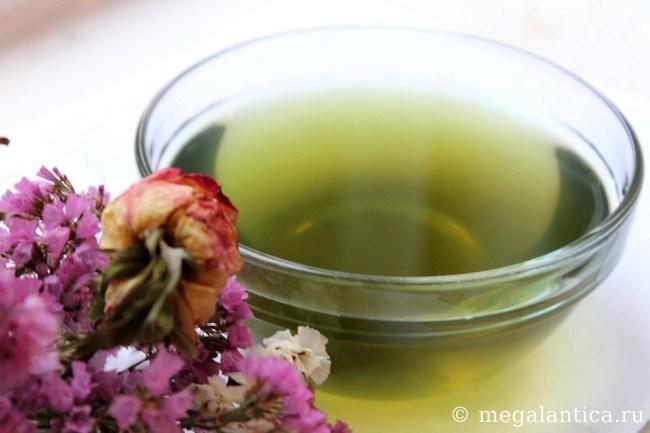 Лопух для волос чай