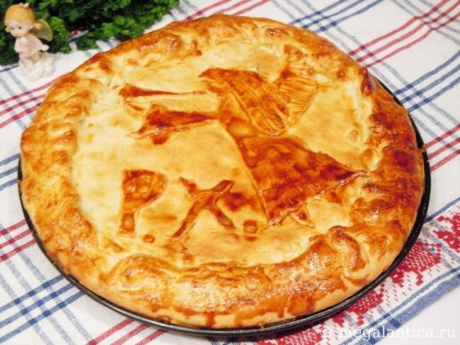 как приготовить мясной пирог с фитаксой - рецепт с фото