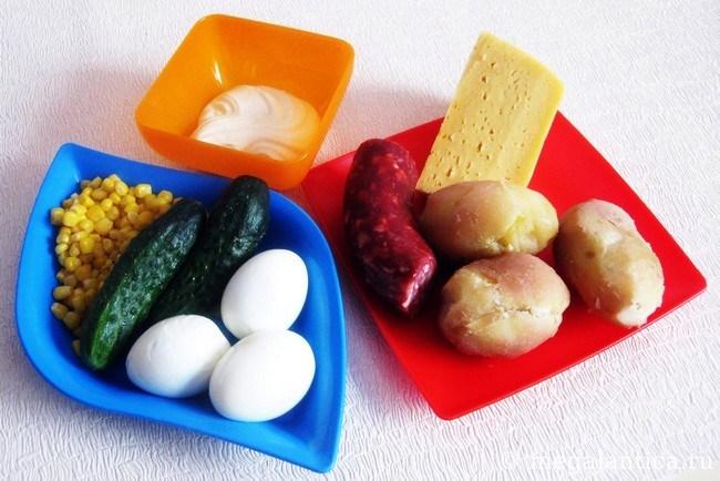 Как приготовить новогодний салат
