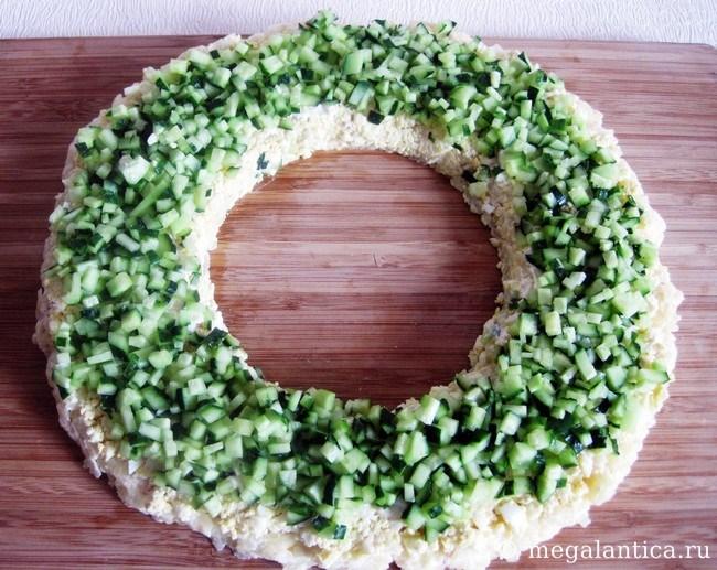 Как приготовить новогодний салат - рецепт с фото