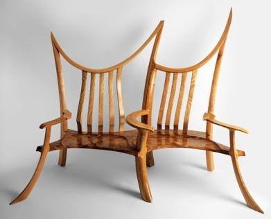 Оригинальная мебель для влюбленных от David Savage