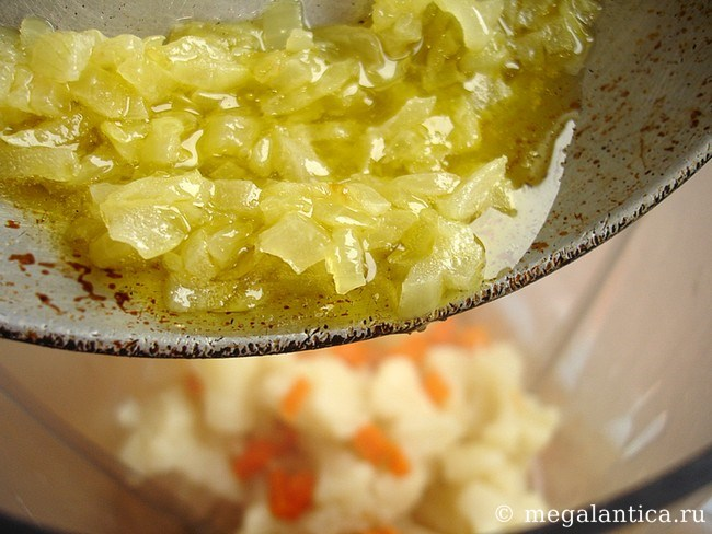 Как приготовить крем-суп с цветной капусты и морковкой — рецепт с фото.