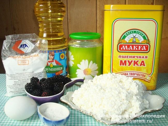 Как приготовить сырники с ежевикой - рецепт с фото.
