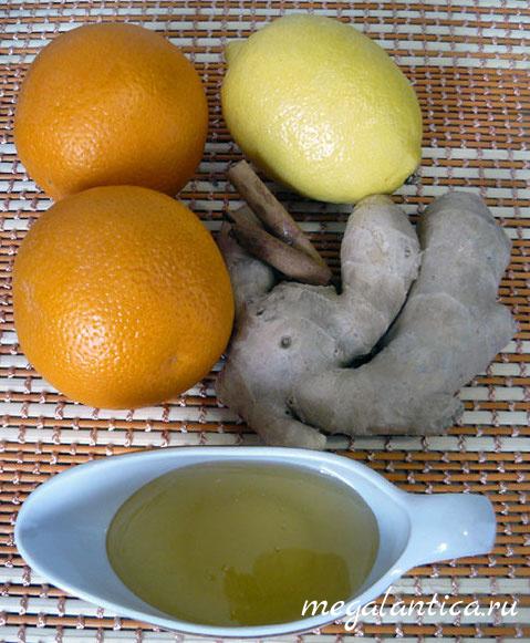 Имбирно-цитрусовая смесь для чая