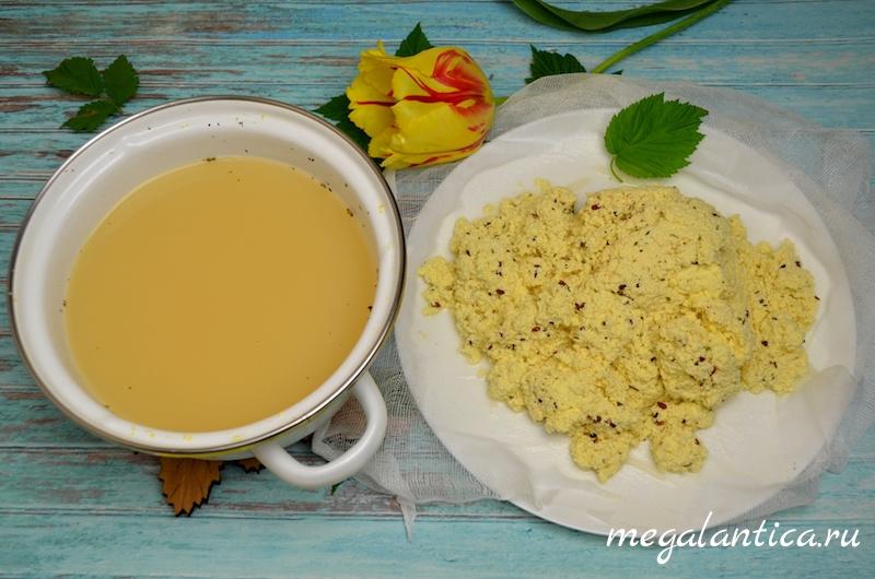 Домашний сыр, рецепт с фото