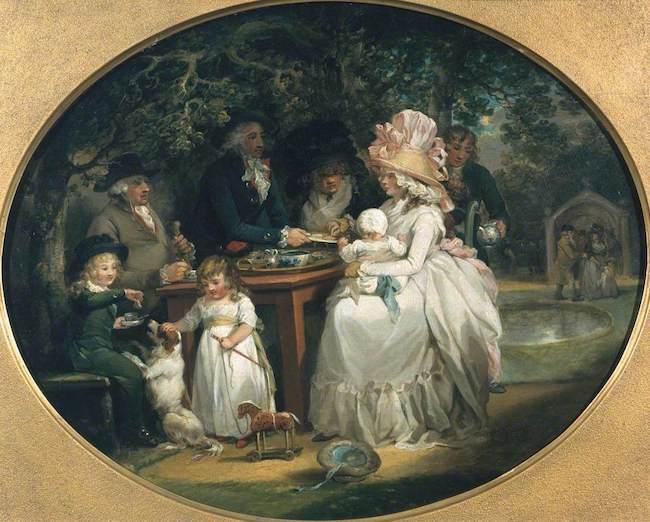 Чайный сад в Англии