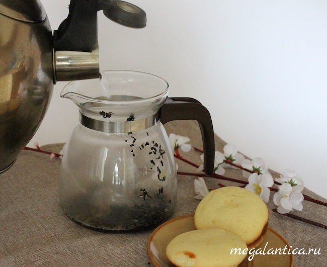 Чай «Черника в йогурте»