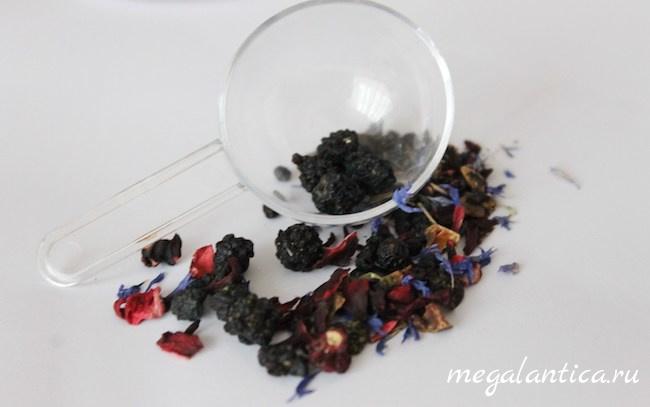 Как приготовить ежевичный чай