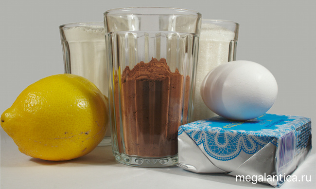 Шоколадное печенье с лимонной начинкой
