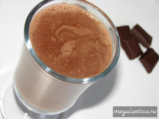Шоколадный чай с мятой