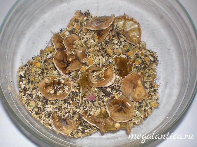 Чай с тропическими фруктами
