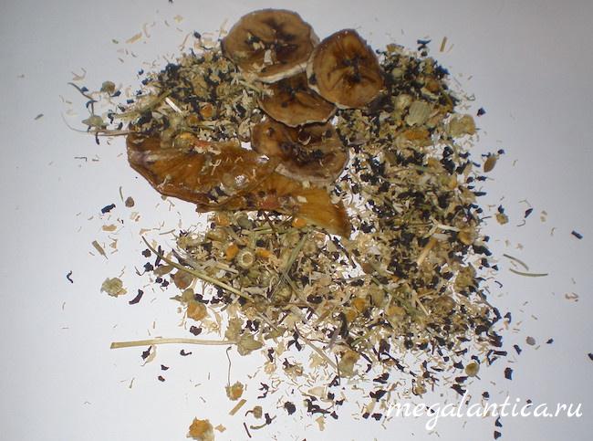 Чай с тропическими фруктами, рецепт