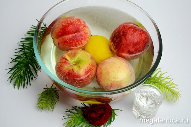 мармелад из персиков
