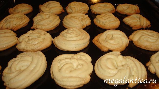 Вкусное домашнее печенье к чаю