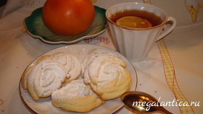 Вкусное домашнее печенье рецепт