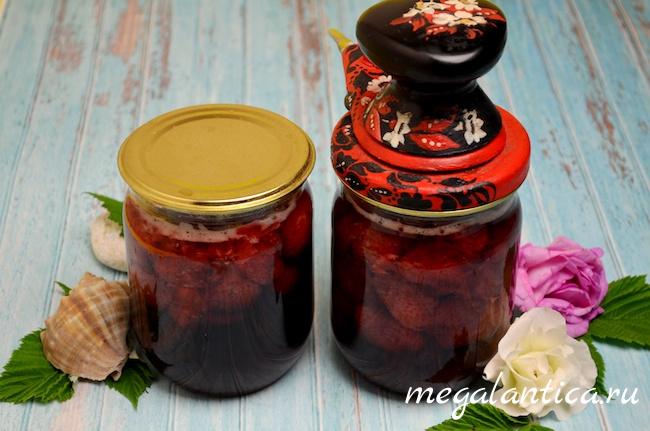 Варенье из клубники с лепестками розы, рецепт